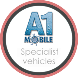 mobile loo hire a1 specialist vehicles logo